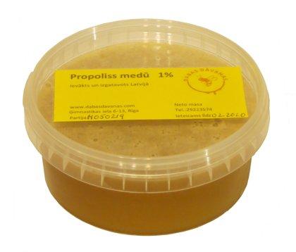 Прополис в мёде 1%